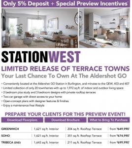 StationWest Burlington Condos